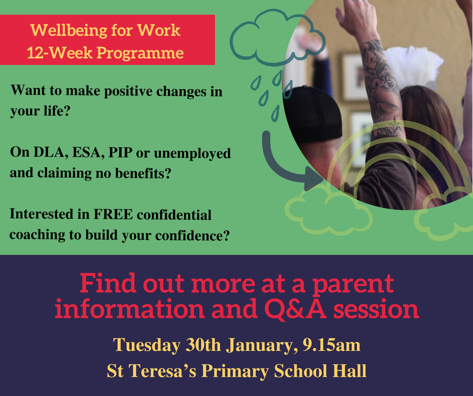 Well Being for Work Programme information session